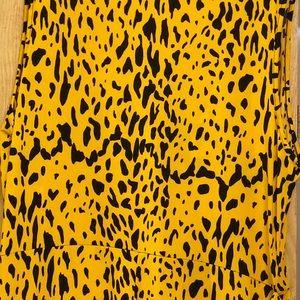 Fashion Nova Pants - Fashion Nova Plus Size Leopard Jumpsuit
